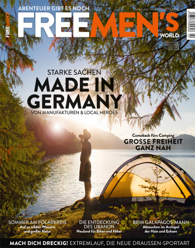 FREE MEN'S WORLD - Ausgabe Sommer 2/17 - Made in Germany