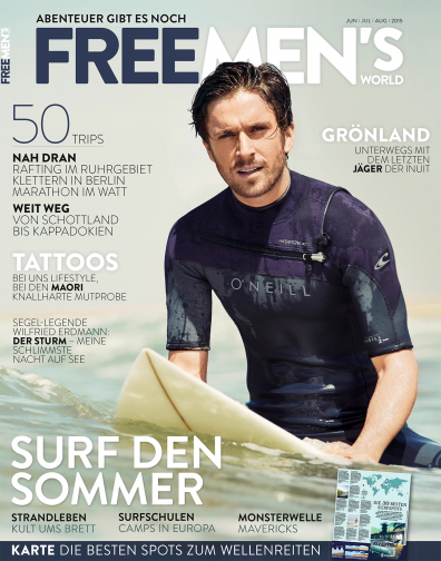 FREE MEN'S WORLD - Ausgabe Sommer 2/2015 - Surf den Sommer