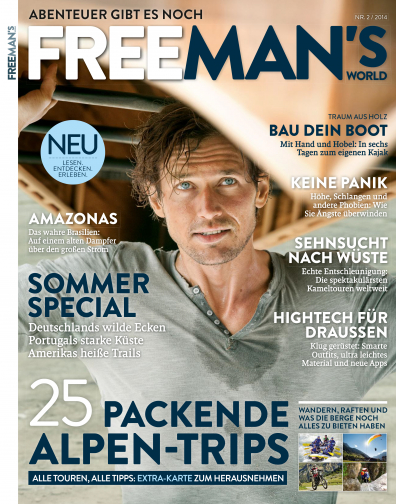 FREE MEN'S WORLD - Ausgabe Sommer 2/14 - 25 Packende Alpen-Trips